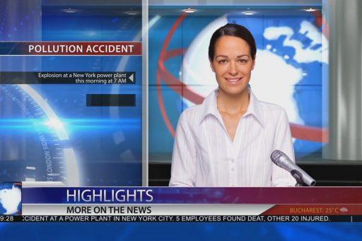 Complete news broadcast